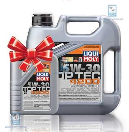 Масло моторное 5W-30 Top Tec 4200 4л LIQUI MOLY 3715