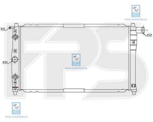 Радиатор охлаждения FPS 22A694P