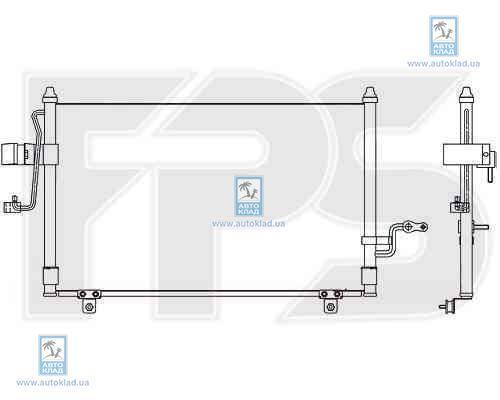 Радиатор кондиционера FPS 17K314X
