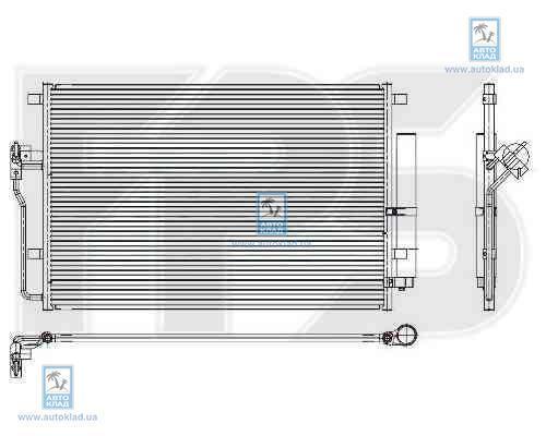 Радиатор кондиционера FPS 46K148