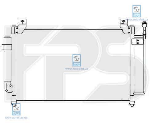 Радиатор кондиционера FPS 44K419X