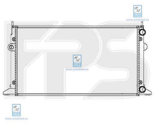 Радиатор охлаждения FPS 74A176