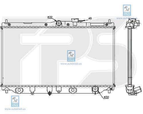 Радиатор охлаждения FPS 30A09X