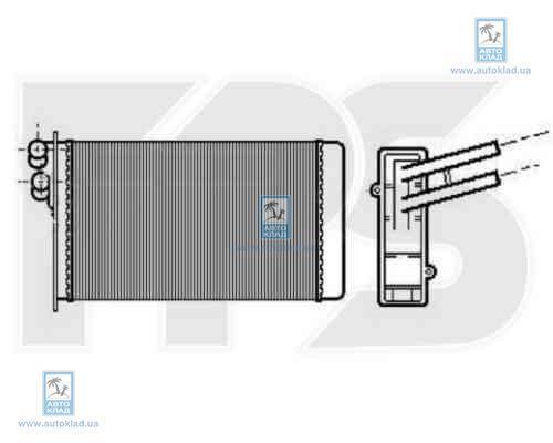 Радиатор отопителя салона FPS 12N60