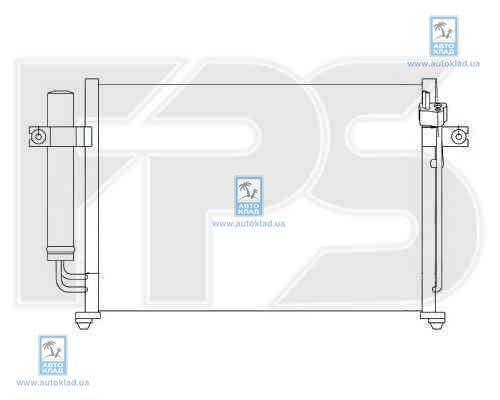 Радиатор кондиционера FPS 32K297