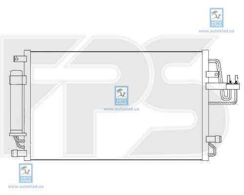 Радиатор кондиционера FPS 32K305X