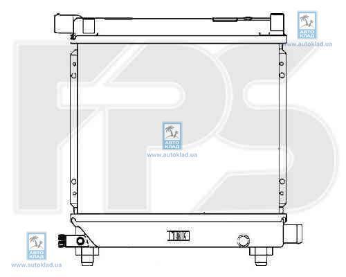 Радиатор охлаждения FPS 46A216