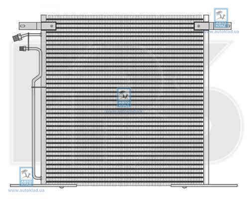 Радиатор кондиционера FPS 46K91