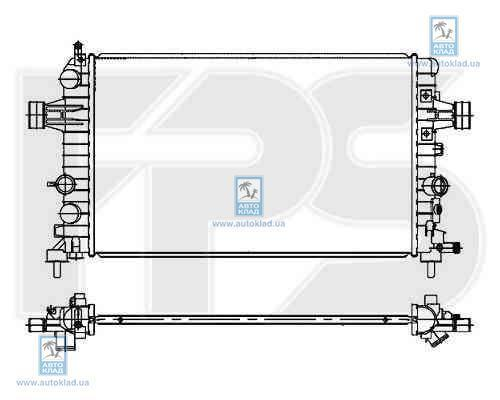 Радиатор охлаждения FPS 52A305P