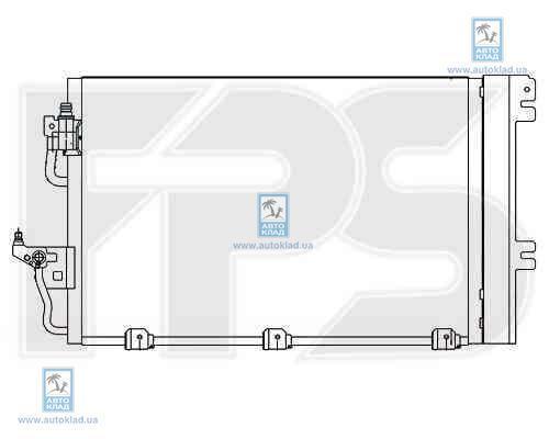 Радиатор кондиционера FPS 52K129X