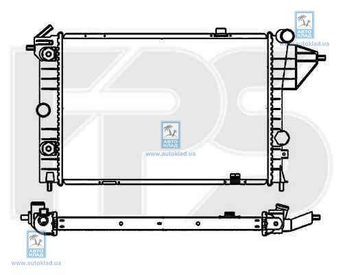 Радиатор охлаждения FPS 52A285