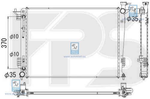 Радиатор охлаждения FPS 32A175