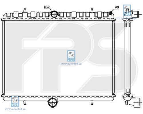 Радиатор охлаждения FPS 20A309