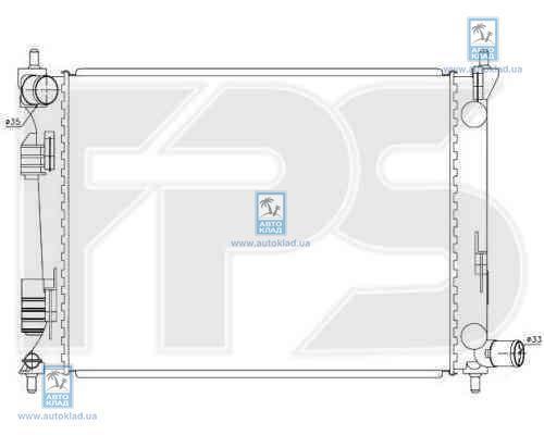 Радиатор охлаждения FPS 32A364