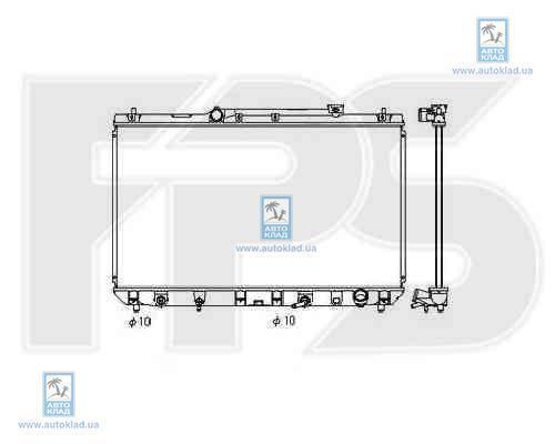 Радиатор охлаждения FPS 70A1180X: цена