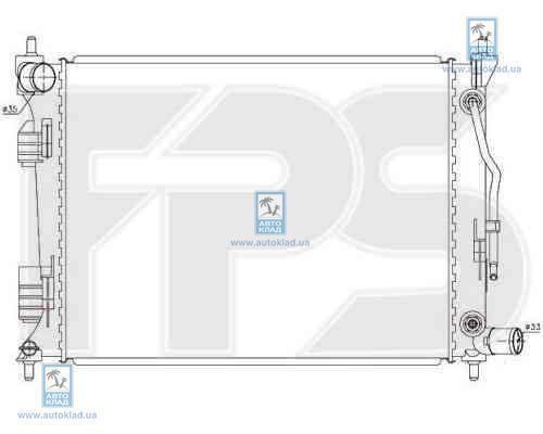 Радиатор охлаждения FPS 32A372X