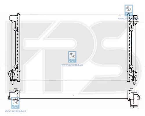 Радиатор охлаждения FPS 74A437