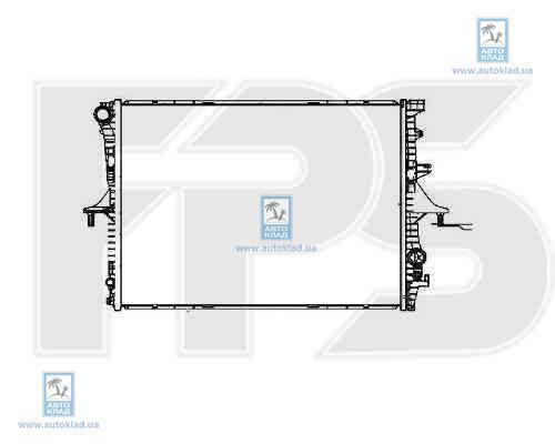 Радиатор охлаждения FPS 74A1208
