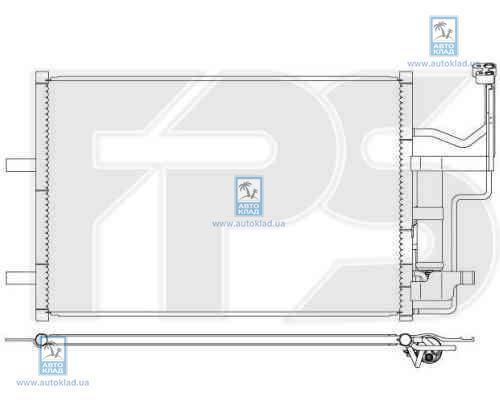 Радиатор кондиционера FPS 44K471