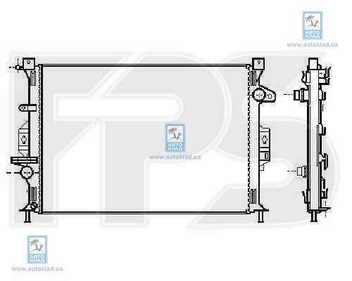 Радиатор охлаждения FPS 28A193