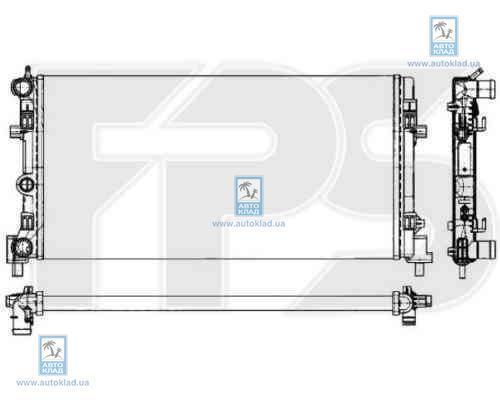 Радиатор охлаждения FPS 74A854