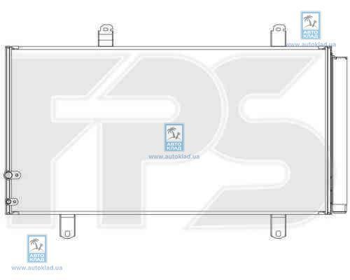 Радиатор кондиционера FPS 70K479X