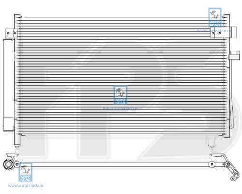 Радиатор кондиционера FPS 67K499