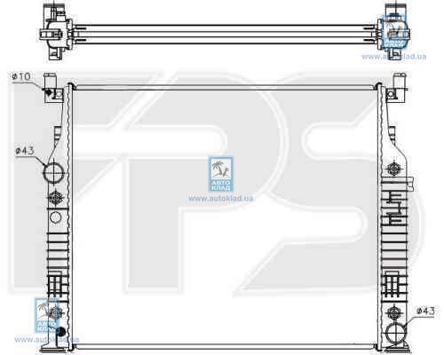 Радиатор охлаждения FPS 46A09X
