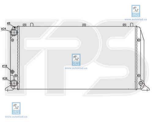 Радиатор охлаждения FPS 12A409