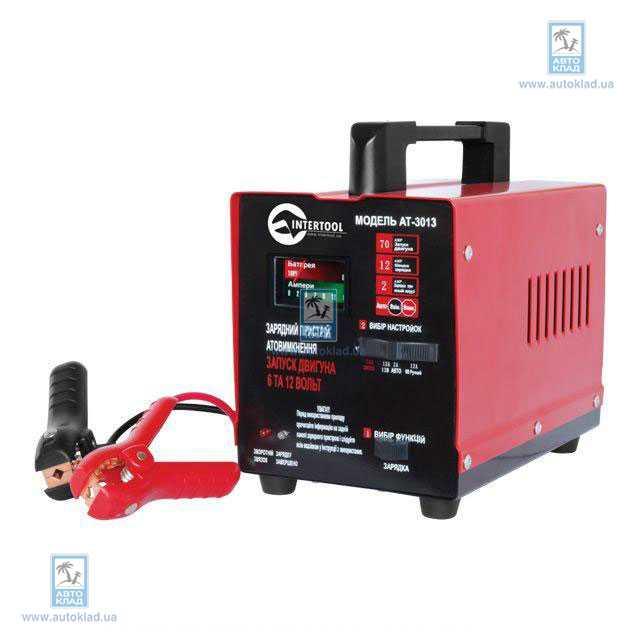 Пуско-зарядное устройство для АКБ INTERTOOL AT3013
