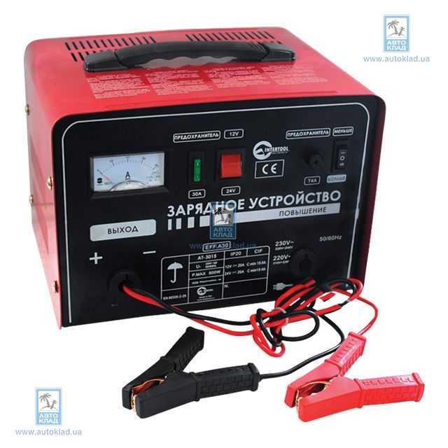 Автомобильное зарядное устройство INTERTOOL AT3015