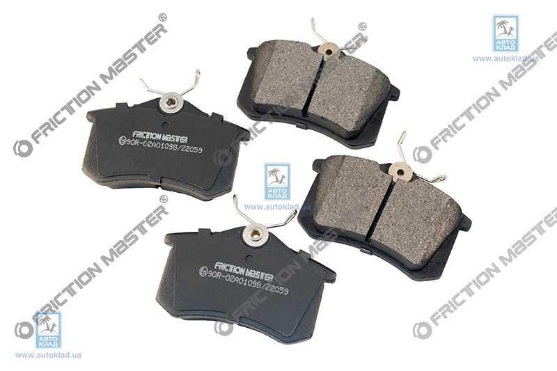 Колодки тормозные FRICTION MASTER MKD340A: купить