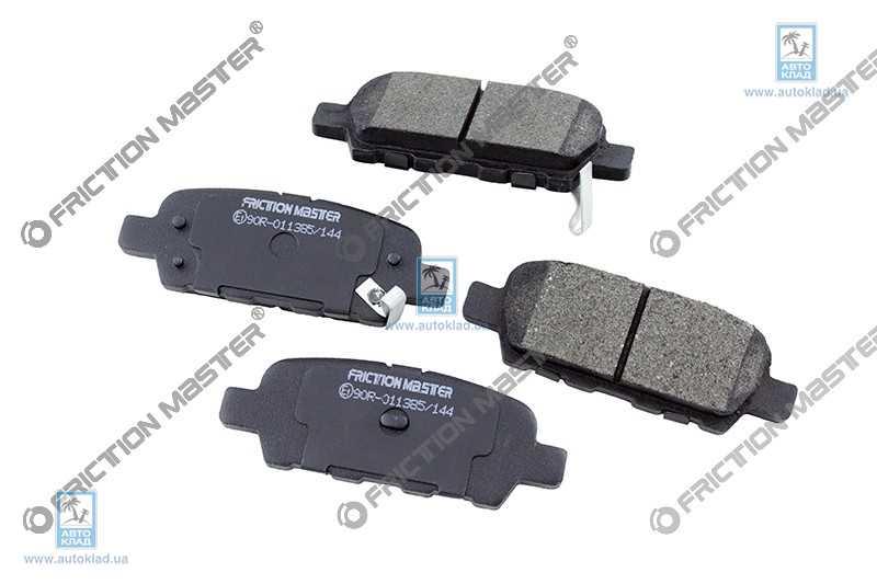 Колодки тормозные FRICTION MASTER MKD905: заказать