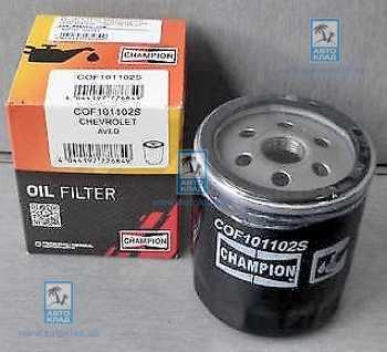 Фильтр масляный CHAMPION COF101102S