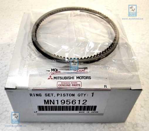 Кольца поршневые комплект STD MITSUBISHI MN195612: стоимость