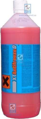 Антифриз G12+ тип D красный -38°C 1л XT ANTIFREEZED1L: продажа