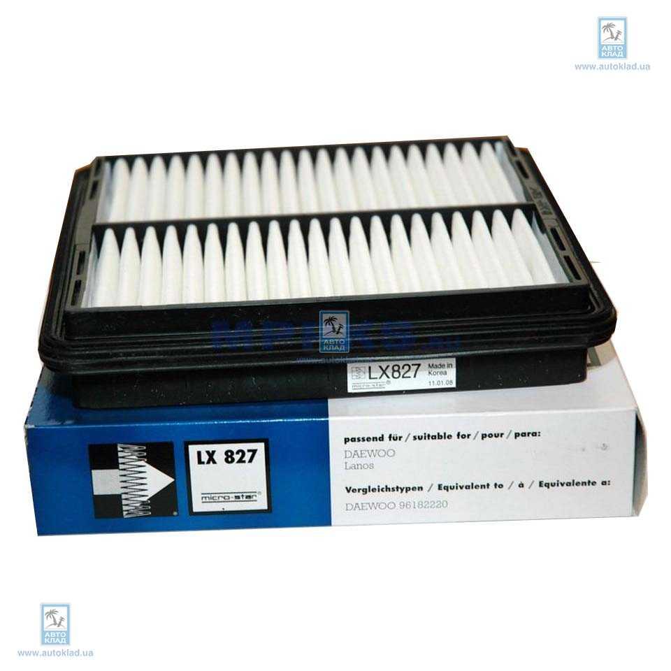 Фильтр воздушный KNECHT LX827
