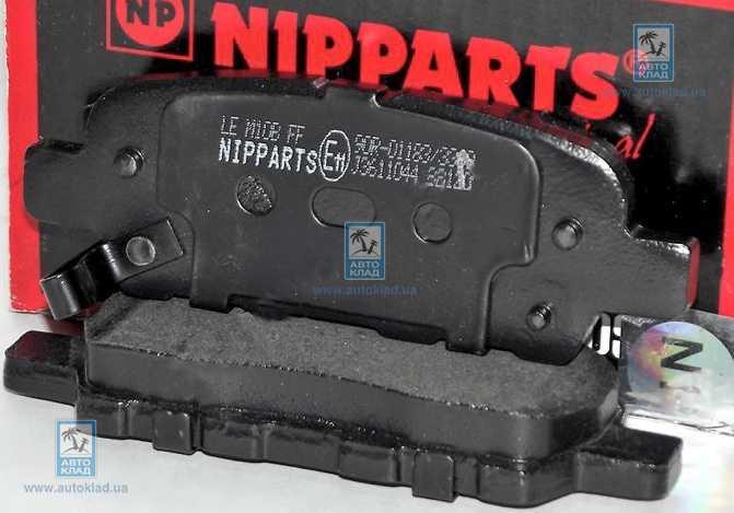 Колодки тормозные NIPPARTS J3611044: купить