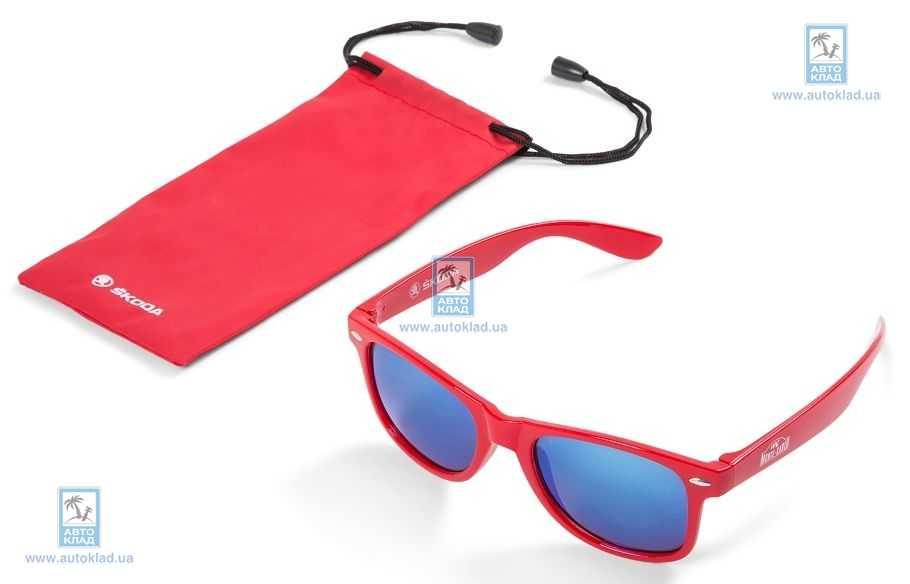 Очки солнцезащитные Monte Carlo красные VAG 3U0087900: описание