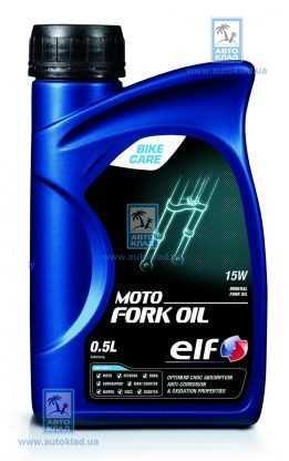 Масло мото-вилок 15W MOTO FORK OIL 0.5л ELF 194972