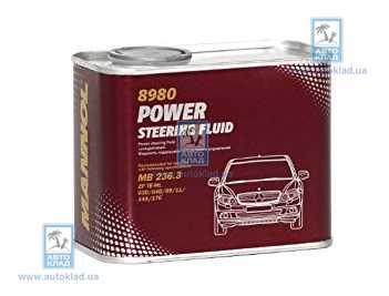 Масло гидравлическое ГУР PSF 8980 metal 0.5л MANNOL MNPSFPOWERSTMETAL: продажа