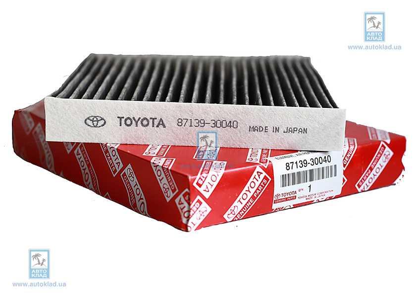 Фильтр воздуха салона TOYOTA 87139 30040: цена