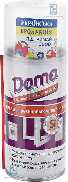 Смазка для резиновых уплотнителей DOMO 150мл XADO XD10016: описание