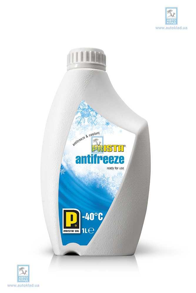 Антифриз G11 -40 °C синий 1л PRISTA PRISANTIFR1L: цена