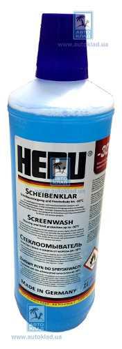 Жидкость омывателя зимняя -30°C 1л HEPU SKC30001: заказать