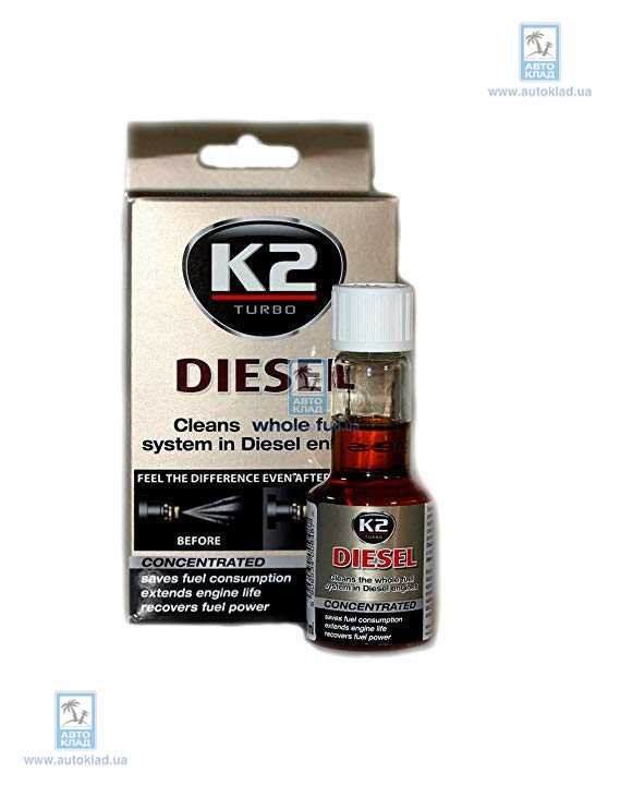 Очиститель форсунок TURBO DIESEL 50мл K2 ET3121: стоимость
