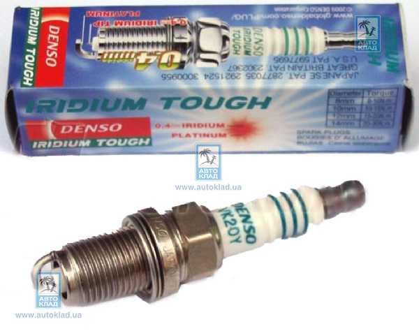 Свеча зажигания Iridium Tough DENSO VK20Y: цена