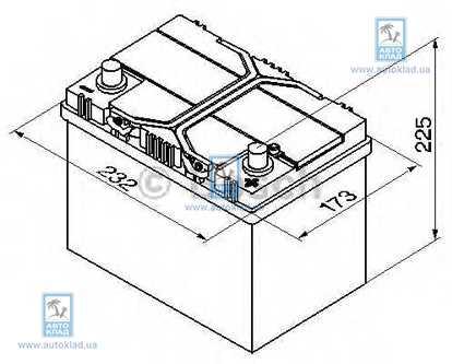 Аккумулятор 60Ач Blue Dynamic VARTA 5604100543132: заказать