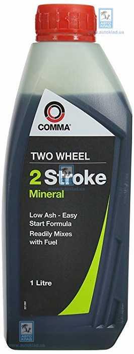 Масло для 2T двигателей Two Wheel 2 Stoke Mineral 1л COMMA TWOWHEEL2ST1LMINERAL: заказать