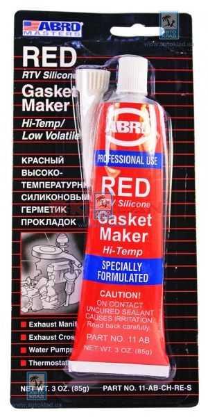 Герметик прокладок красный CH 85г ABRO 11ABCH: продажа